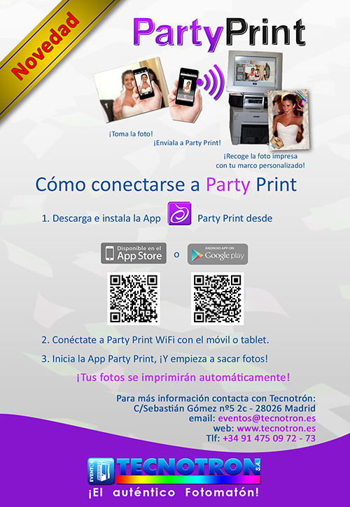 Instrucciones Party Print 1